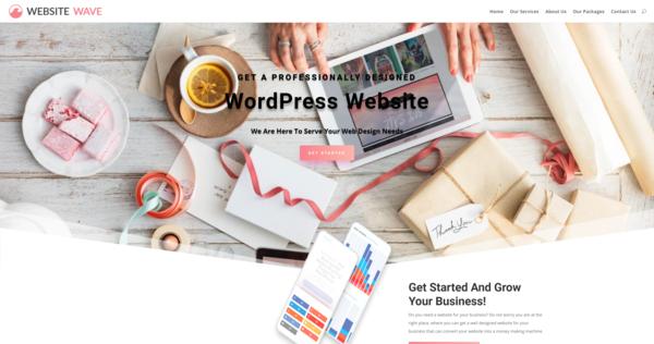 WebsiteWave.co - Web Design Agency, Newbie Friendly, Fully Outsourced, Net Profit - $722 per/mo