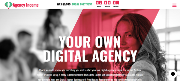 Agency-Income.com - You Can Own Your Own Agency Reseller Business