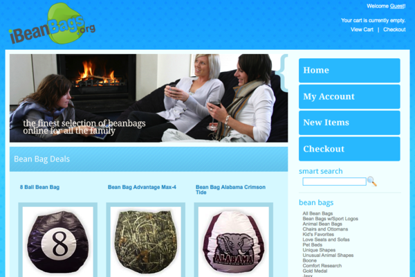iBeanBags.org - Easy to Operate Fully Developed Property with Gorgeous Store
