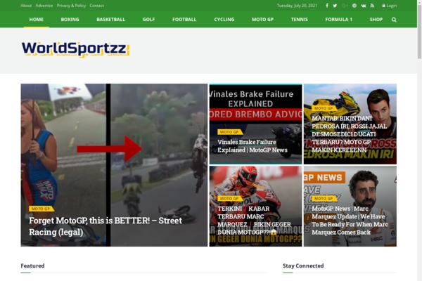 worldsportzz.com - 100% automated Sports News Video Blog.