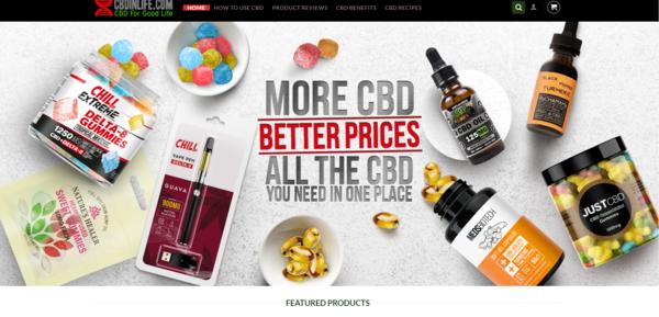 cbdinlife.com - Cbdinlife.com CBD Product superstore + CBD automated blog