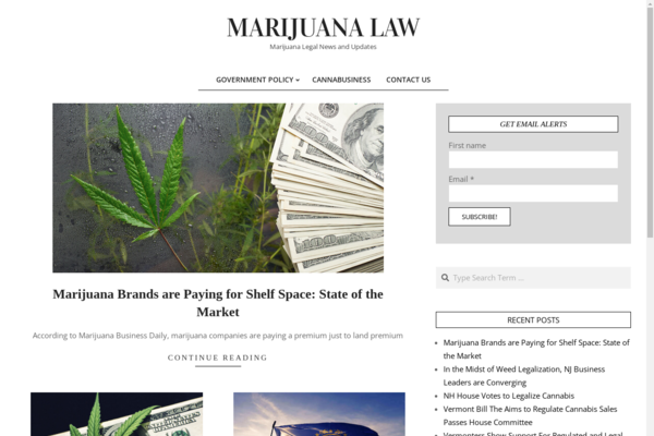 SensibleMarijuanaLaws.org - Marijuana Law Blog | Good Backlink Profile from Marijuana Content