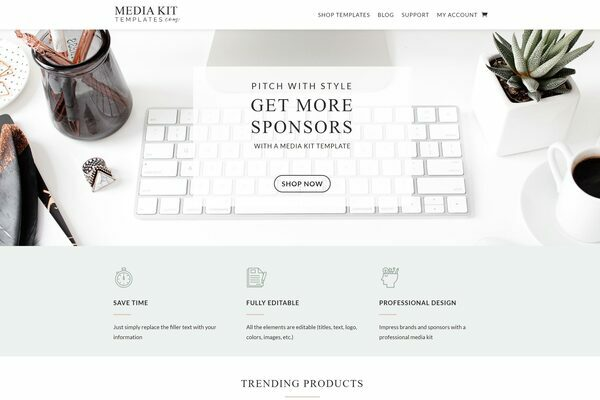MediaKitTemplates.com - Starter website with ready-made digital products and lead magnets. Easy to run.