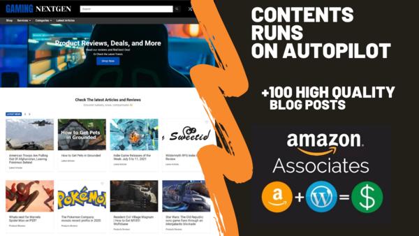 gamingnextgen.com - Starter Site for sale in the Hobbies and Games industry