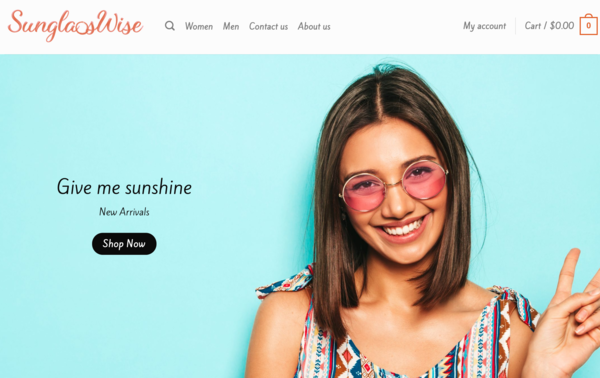 SunglassWise.com - SunglassWise.com - Automated Dropshipping Store|Domain worth +$1,400