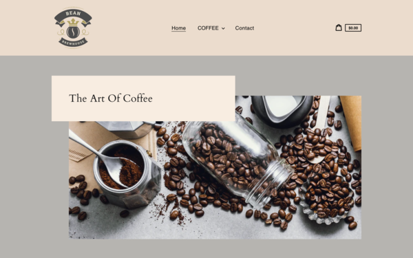 BeanBrewhouse.com - BeanBrewhouse.com |NO RESERVE| Dropshipping Coffee Store|$1,109  Domain Value