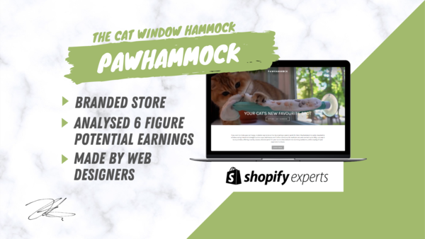Pawhammock™ - Start Your Online Business Today With Our Branded & Automated One Product Store Made By A Team Of Dropshippers & Web designers.