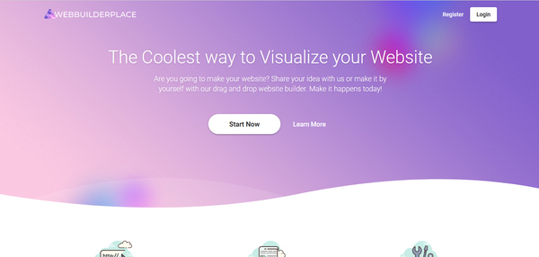 webbuilderplace.com - WIX like SaaS Business with Drag and Drop Website Builder