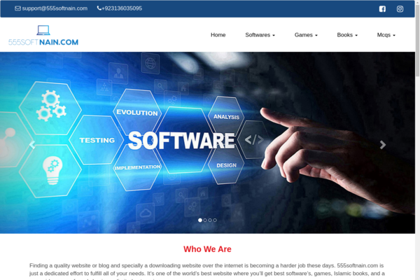 555softnain.com - Software & Tools & Games are sale with paddle payment gateway. Books & MCQs are the great traffic source. It is best commerce of software's sale & for monetize.
