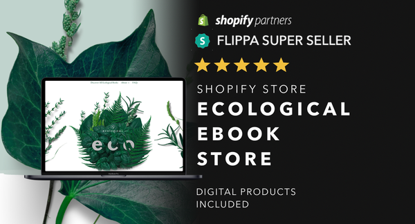 GuideToEcoLiving.com - Password: 1234 | Eco Living Ebook Shopify Store For Sale Startup Streams