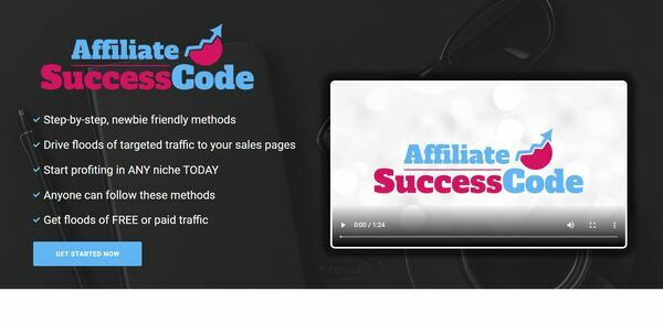 AffiliateSuccessCode.com - eCom WooComm Store Selling Digital Marketing Training Courses, Includes 8 eBooks