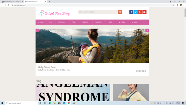 BrightStarBaby.com - High Converting Hot Baby Niche - Premium Design - 100% Fully Automated