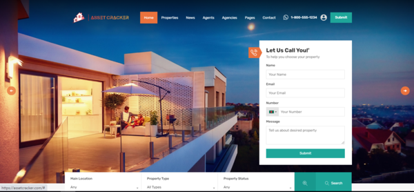 AssetCracker.com - Fresh new real estate marketplace, Anyone can buy or sell properties directly.