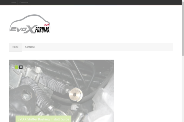 EvoXForums.net - Established Car How-To Site that is over 8+ Years old! Make Money From Ads