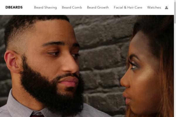 dbeards.com - Fully Automated Dropshipping Store -Beard Niche Shopify