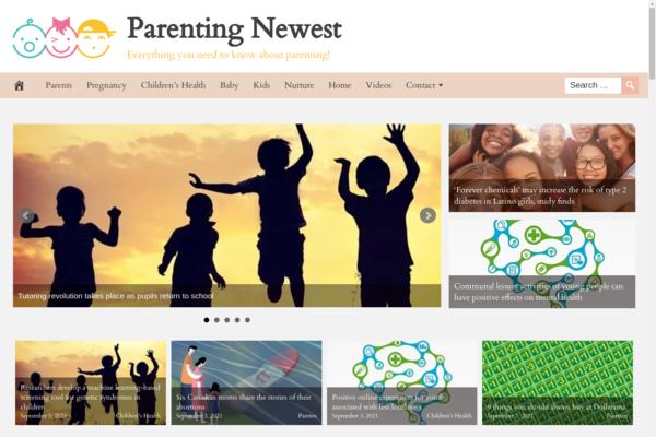ParentingNewest.com - Popular Parenting Niche - BIN Bonus - Fully Automated - Premium Design