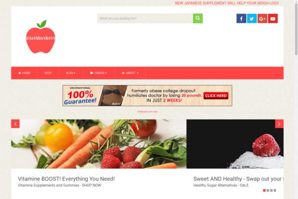DietMarkets.com - High Earning Potential: Automated Diet Website Valued @ $1,694 - Huge BIN Bonus