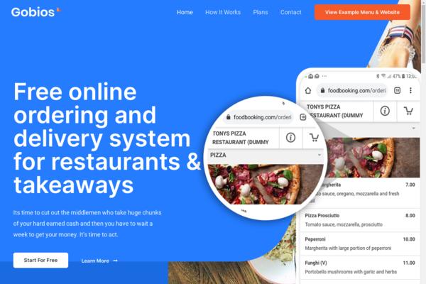menusforrestaurants.co.uk - A Ready To Go Restaurant Marketing Website