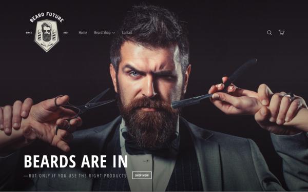 BeardFuture.com - BeardFuture.com | Dropshipping Beard Store| $1,294 Domain Value