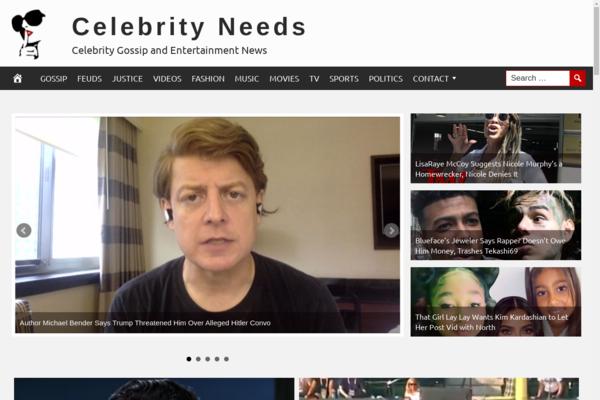 CelebrityNeeds.com - Fully Automated Celebrity News Website. Get 5 Automated Websites worth over $900
