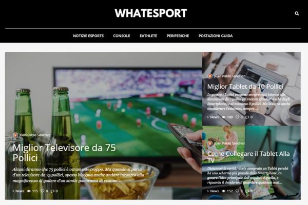 whatesport.com - Advertising / Hobbies and Games
