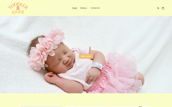 ToddlerLook.com - ToddlerLook.com | Dropship Baby Clothing & Accessories | Domain Value $1,188
