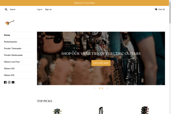 yadmusic.com - Electric Guitars Store With Big Profits
