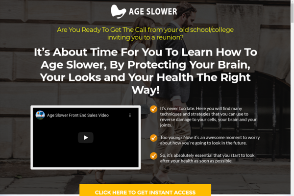 AgeSlower.club - 10 eCommerce Websites With Digital Products | Exciting Buy It Now Bonuses