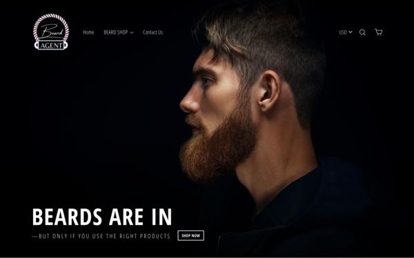 BeardAgent.com - BeardAgent.com - | NO RESERVE | Dropshipping Beard Store| $1,309  Domain Value