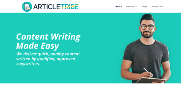 ArticleTribe.com - PROFITABLE ARTICLE WRITING BIZ - Made $3382 in 3 Months. Recession Proof Biz