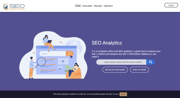 seoanalyticz.com - Run Your Own SEO Web Agency On Complete Auto! 70+ Web Analysis & SEO Tools