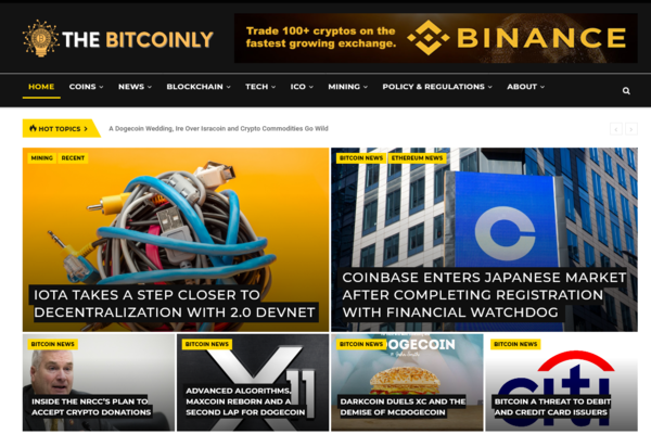 TheBitcoinly.com - Fully Automated Cryptocurrency News + Free Hosting (Bonus) - Earn Upto $5k/Month