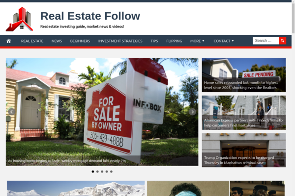RealEstateFollow.com - Real Estate Investment- Fully Automated - Ad Income - BIN Bonus