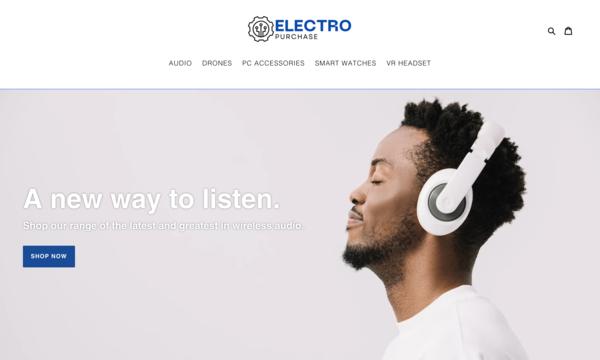 ElectroPurchase.com - ElectroPurchase.com | NO RESERVE | Electronics Store| $1,236 Domain Value