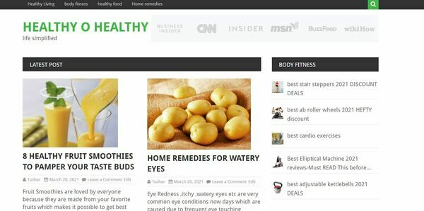 healthyohealthy.com - Advertising / Health and Beauty