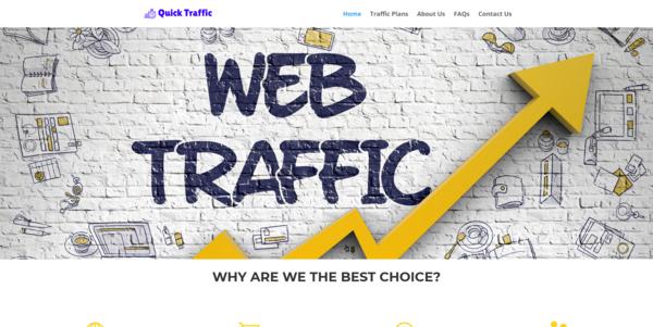 QuickTraffic.co - Established Traffic Reseller Biz, Making $358 Per Month, 100% outsourced