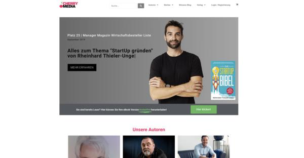 cherrymedia.de - e-Commerce / Entertainment