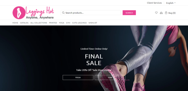LeggingsHot.com - Password : 111, Automated Leggings Dropshipping Business, US Suppliers