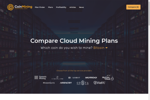 coinminingcompare.com - CoinMiningCompare.com allows users to compare top crypto cloud mining contracts!