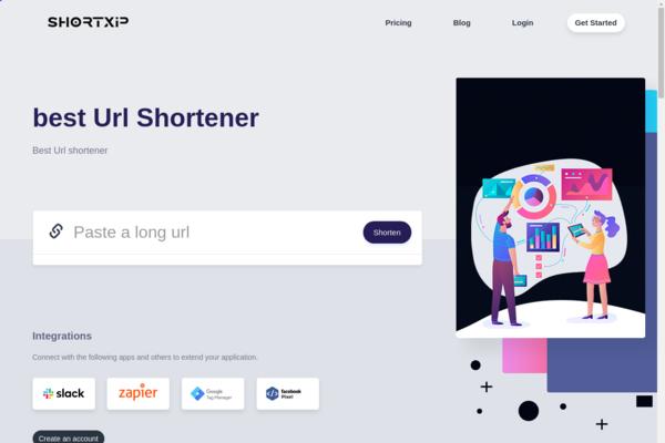 shortxip.com - Link Shortener , URL shortener , SaaS based , Suitable Domain Name