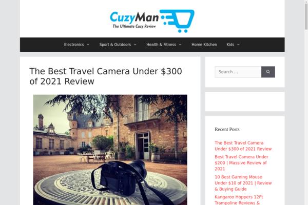 cuzyman.com - 8 Month old Multiniche Starter Site for sale