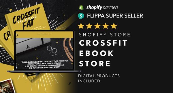 CrossFitTrainingGuide.com - Password: 1234 | CrossFit Ebook Shopify Store For Sale