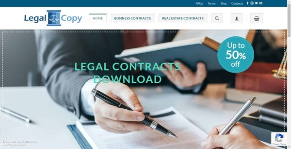 LegalCopy.info - 100% Automated Digital Downloads eCommerce ~ Legal Contract Templates. Digital products with Huge Demand All Year. Perfect Side Hustle to Make Extra Cash online