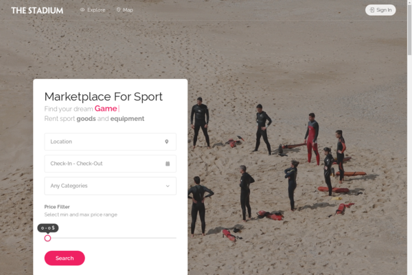 TheStadium.com - TheStadium.com - Sport Marketplace for events, services and rentals