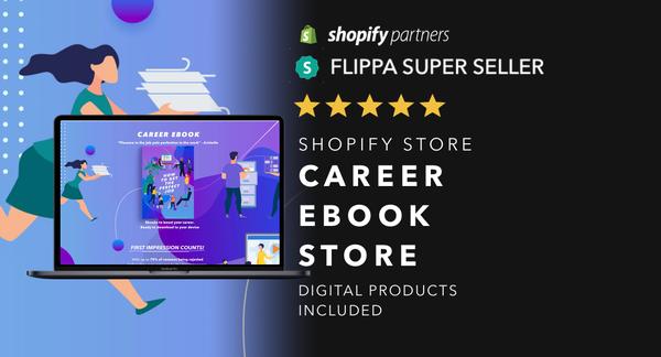 YourCareerEbooks.com - Password: 1234 | Career Ebook Digital Product Shopify Store Startup Streams