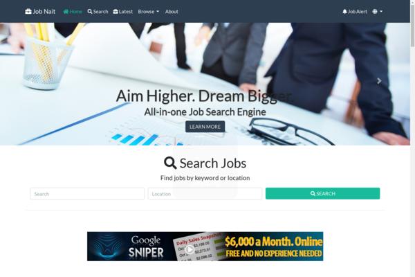 jobnait.com - All-in-One Job Engine. Killer Design & Passive Revenue on full autopilot.