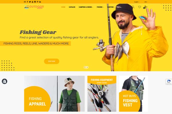 OutdoorShopCenter.com - Pass: 1234 | OUTDOOR DROPSHIPPING Store. No Coding Skills. Usa Warehouses