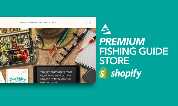 LearnFishingGuide.com - Password: 1234 | Fishing Niche Ebooks Shopify Store For Sale