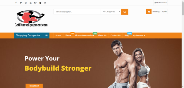 GetFitnessEquipment.com - KILLER Niche - Evergreen Business - HUGE MARKET - No Experience Required! Grab Your Share Of The SUPER PROFITABLE Billion Dollar Health & Fitness Niche With Thi