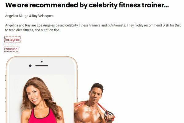 Dish for Diet - A 6 years old diet and fitness Adsense approved blog recommended by several celebrity fitness trainers. Good traffic potential as I have worked on building EAT.